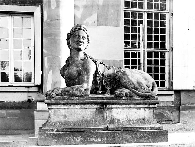 Statue : Sphinx, ensemble