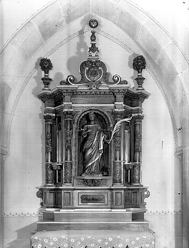 Autel de sainte Catherine