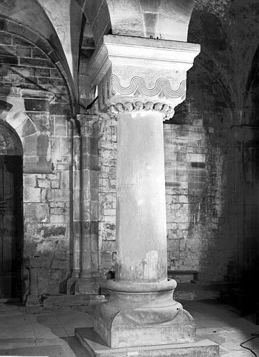 Chapiteau et colonne