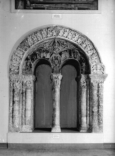 Relevés de fresques : ensemble des arcades