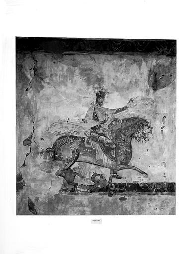Relevés de fresques : Constantin