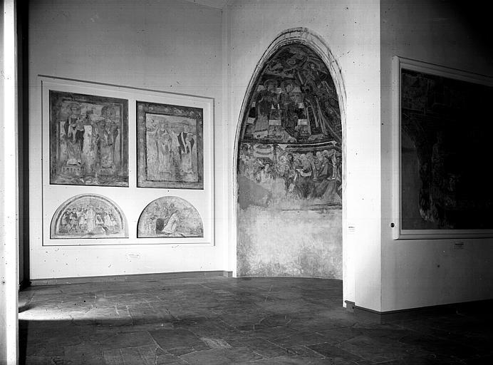 Relevés de fresques : cul-de-four