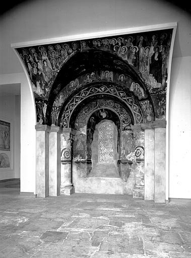 Relevés de fresques : arcades