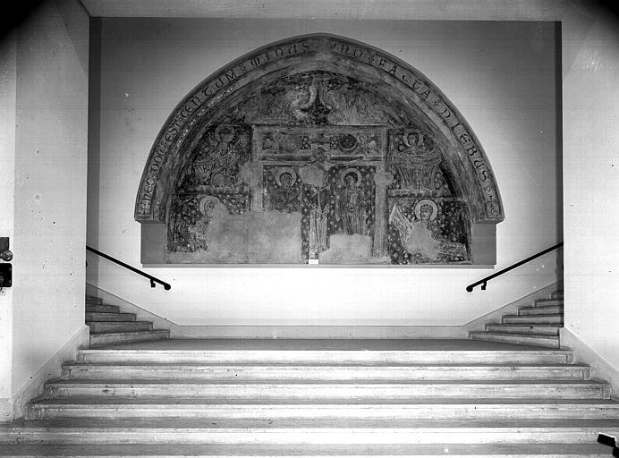 Relevés de fresques : Crucifixion