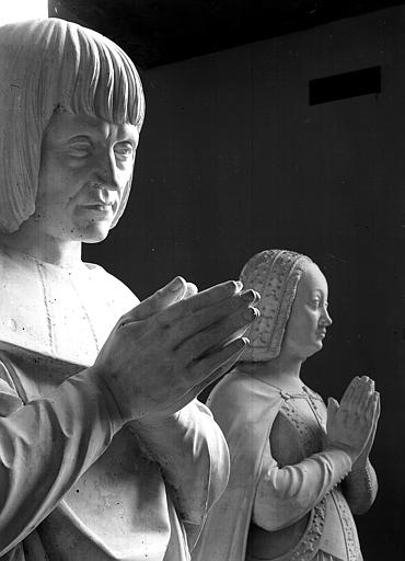 Priants de Louis XII et d'Anne de Bretagne, détail
