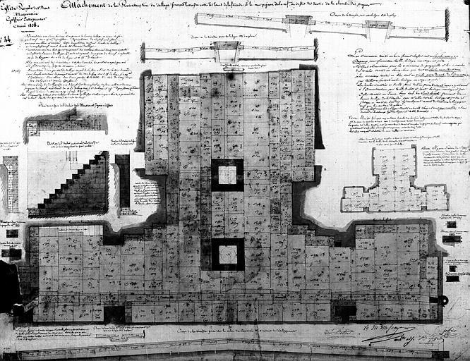 Attachements de 1838