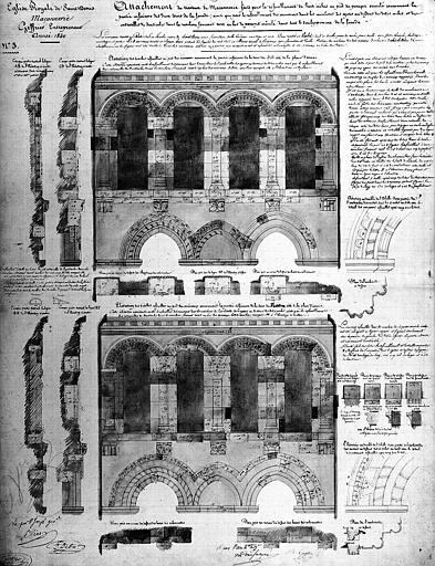 Attachements de 1840