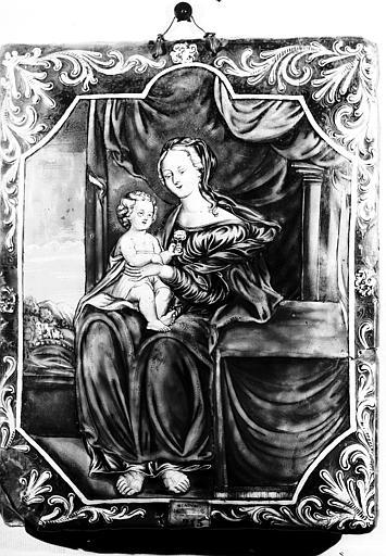 Email : la Vierge à l'Enfant
