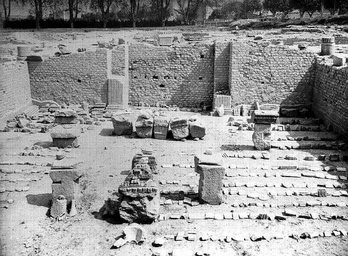 Emplacement du grand temple