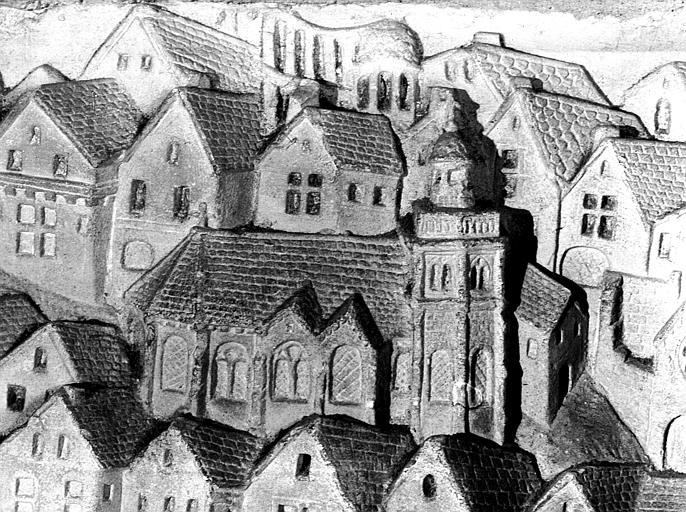 Nef : détail, église Saint-Pierre et Saint-Paul disparue