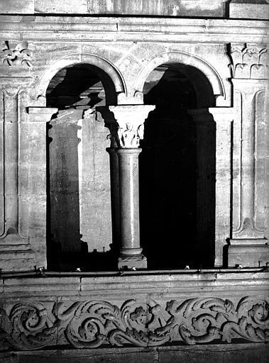 Triforium : vue extérieure