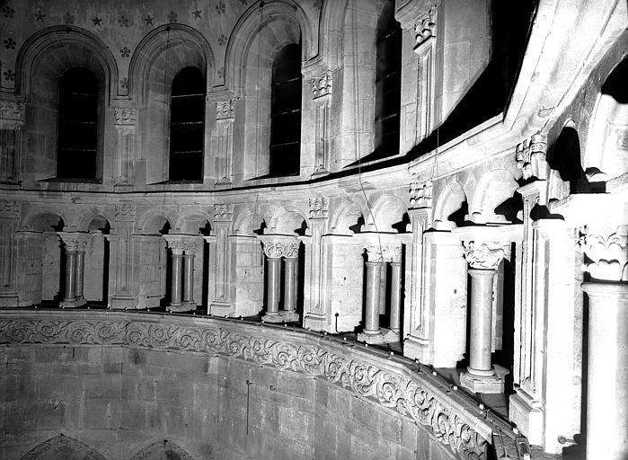 Triforium de l'abside : frise