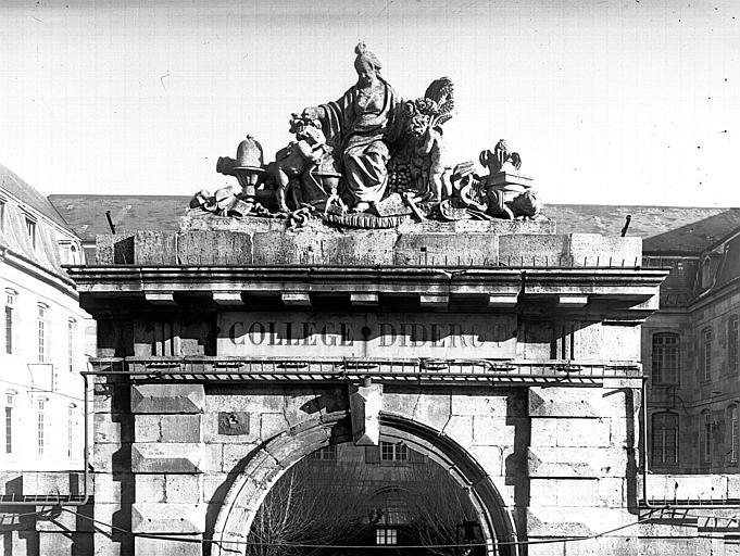 Groupe au-dessus du portail