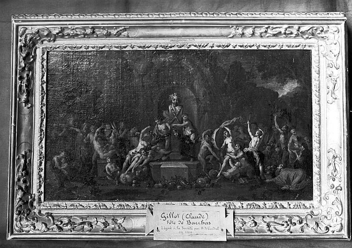 Peinture : Fête de Bacchus
