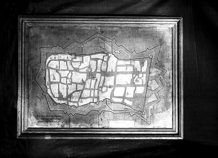 Plan de la ville de Langres