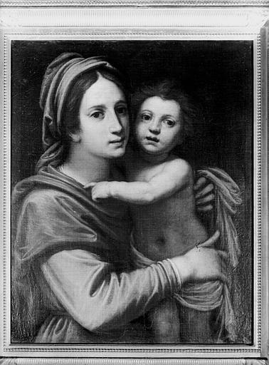 tableau : Vierge à l'Enfant dite Notre-Dame des Jacobins