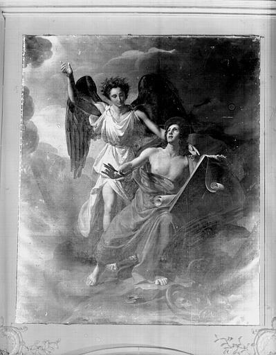 Tableau : Saint Jean à Patmos