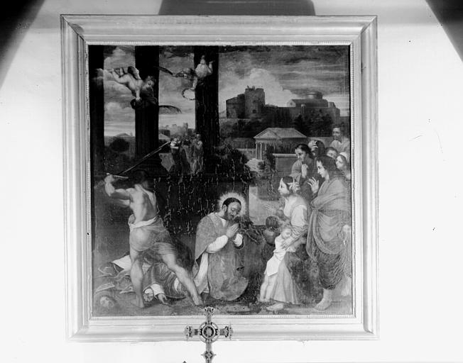 Tableau : Le Martyre des saints Ferréol et Ferjeux