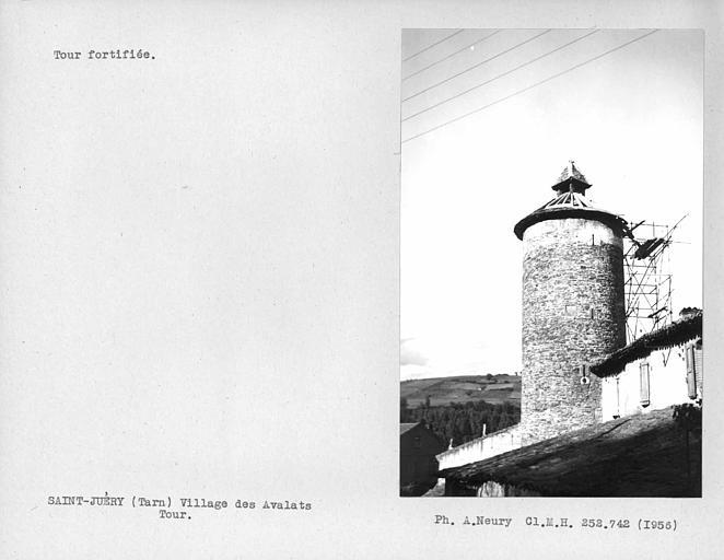 Vue d'ensemble de la tour