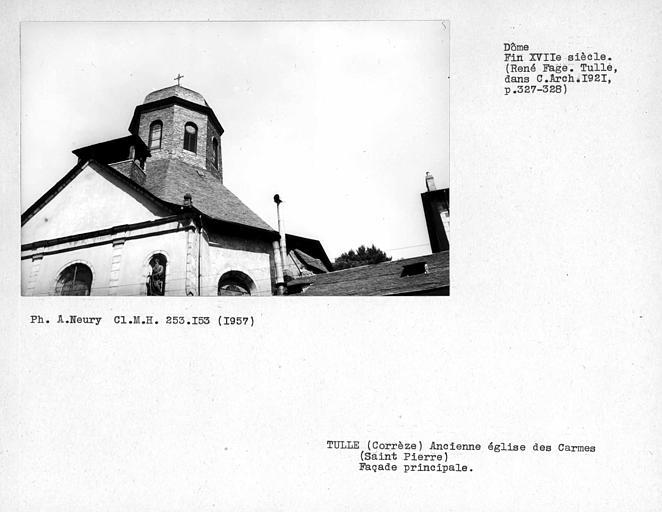 Ancienne église Saint-Pierre ou ancienne église des Carmes déchaussés