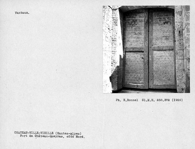 Vantaux du portail côté nord