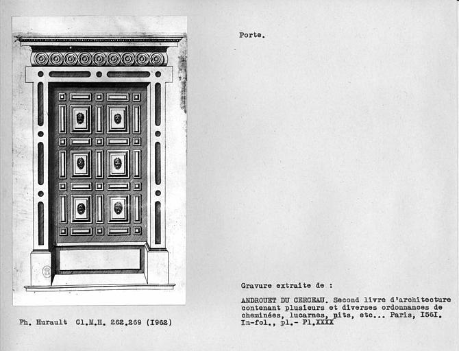 Dessin d'une porte