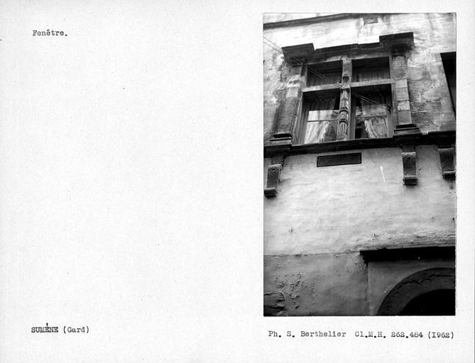 Fenêtre de la façade