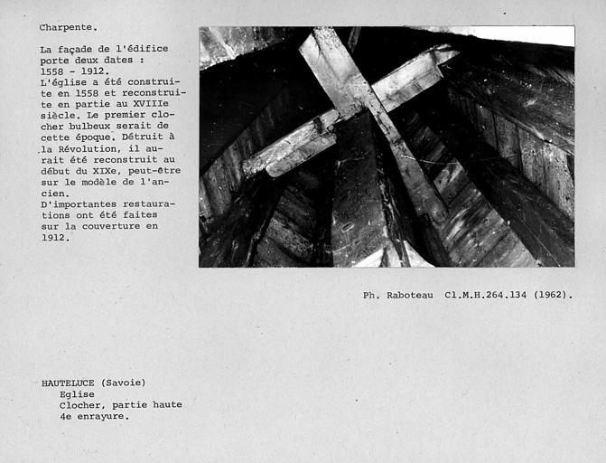 Charpente du clocher, quatrième enrayure