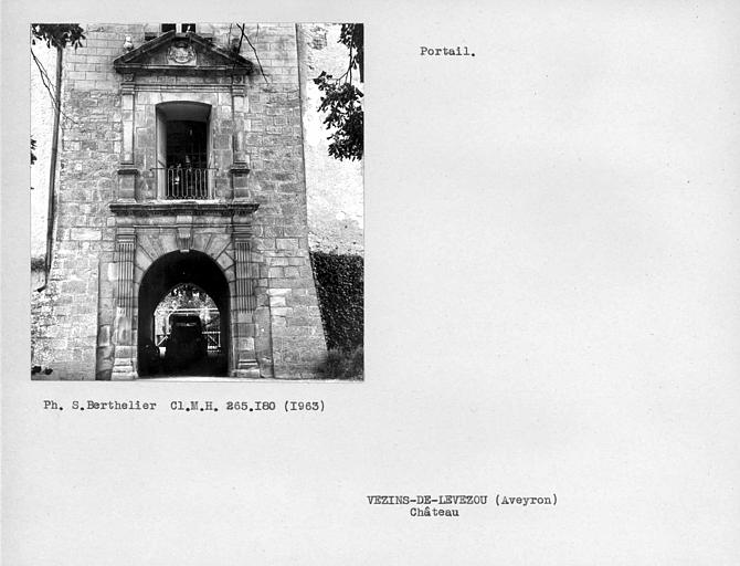 Portail du château