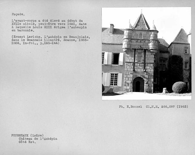 Porte fortifiée de la façade est