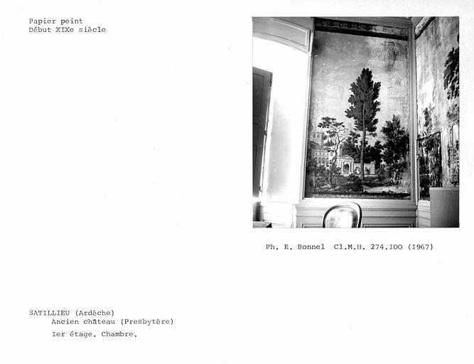 Papier peint panoramique de la chambre du premier étage