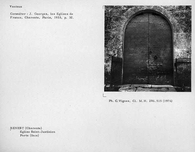 Eglise Saint-Justinien