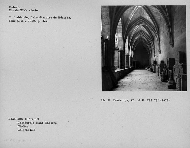 Ancienne cathédrale Saint-Nazaire et cloître Saint-Nazaire