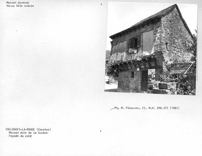 Maison du 16e siècle dite «maison de la Sirène»