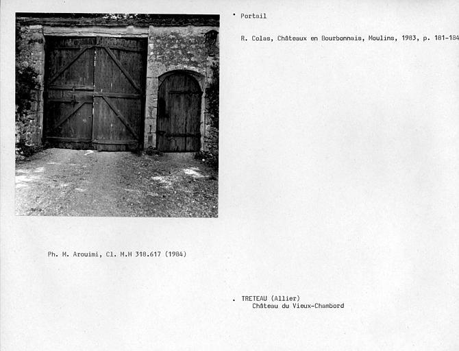 Vantaux du portail