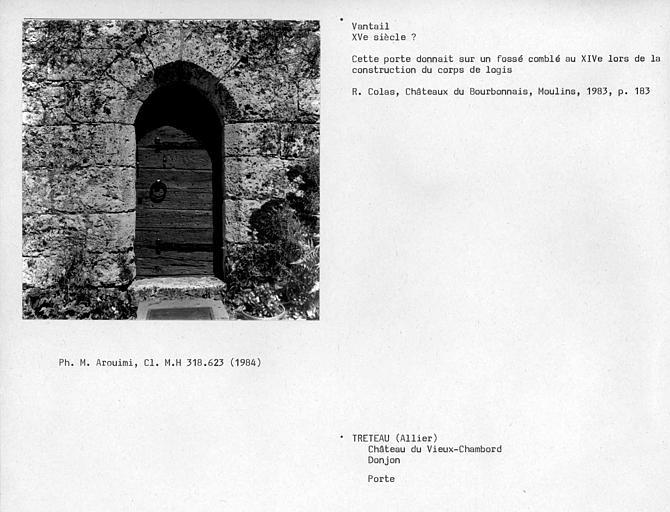 Porte du donjon