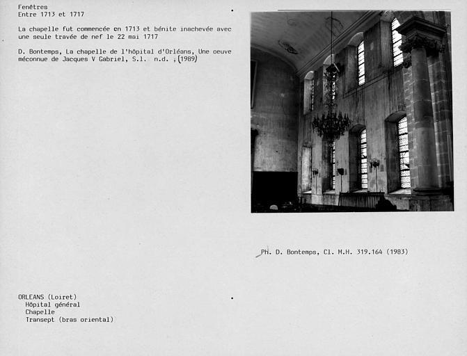 Fenêtres du bras est du transept
