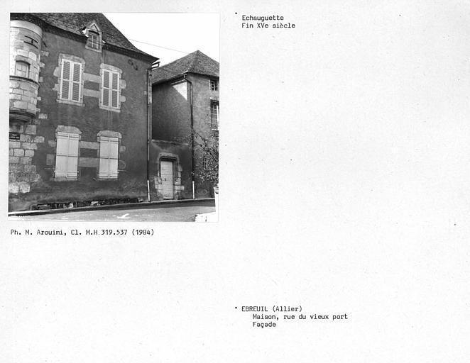 Echauguette de la façade