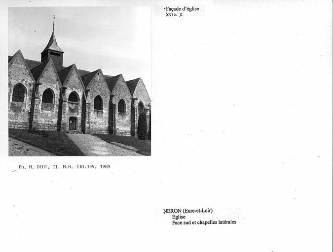 Eglise Saint-Léger et ferme attenante