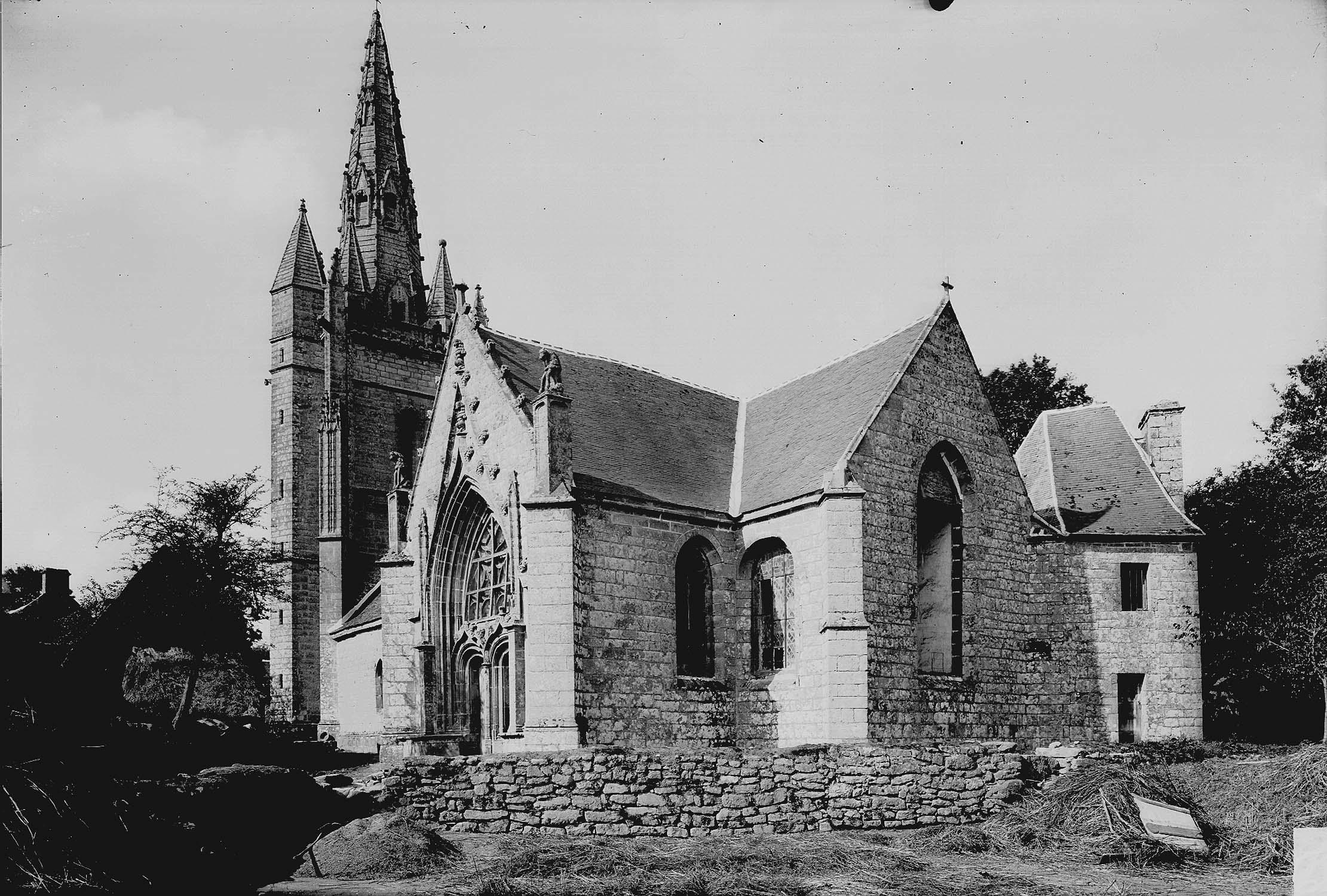Chapelle de Locmaria et sa fontaine