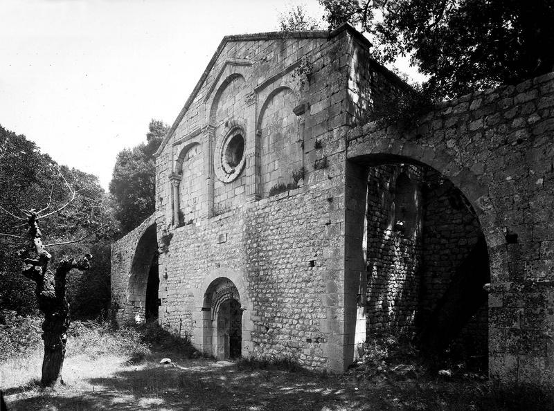 Vestiges, façade d'entrée