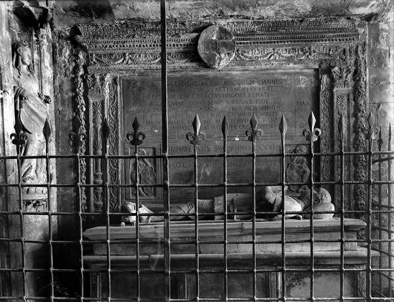 Monument funéraire de Jean Cossa