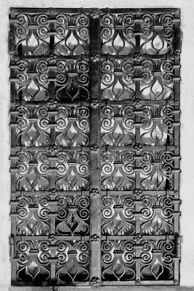 Clôture de la chapelle des reliques (grille)