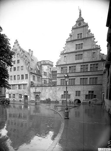 Vue nord-ouest de la façade