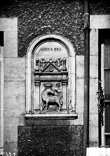 Bas-relief : Agnus Dei