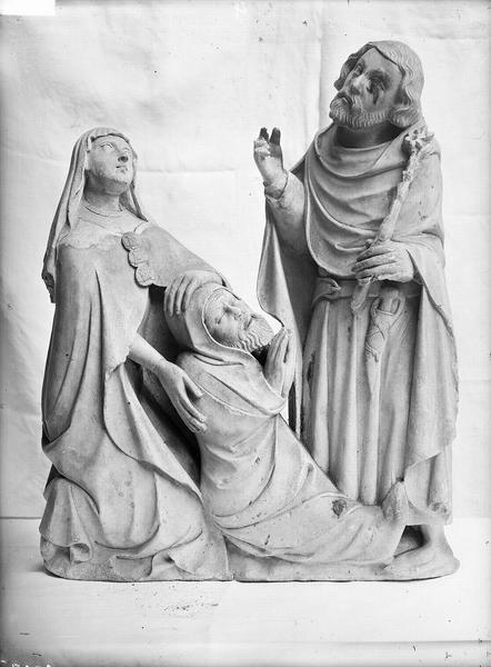 2 bas-reliefs : Résurrection