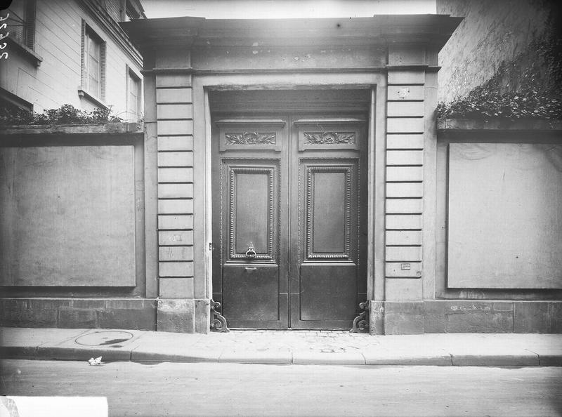 Hôtel (ancien) , dit aussi Hôtel des Vertus, de Courthenay, de Chemilly, de Béthune ou de Croix