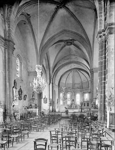 Eglise abbatiale Saint-André et Saint-Léger