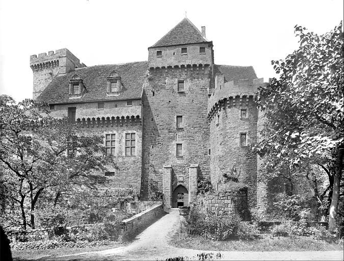 Façade sud-est (façade d'entrée)