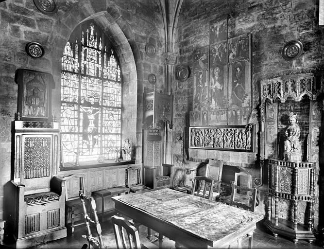 Aile sud-est : vue intérieure de l'oratoire
